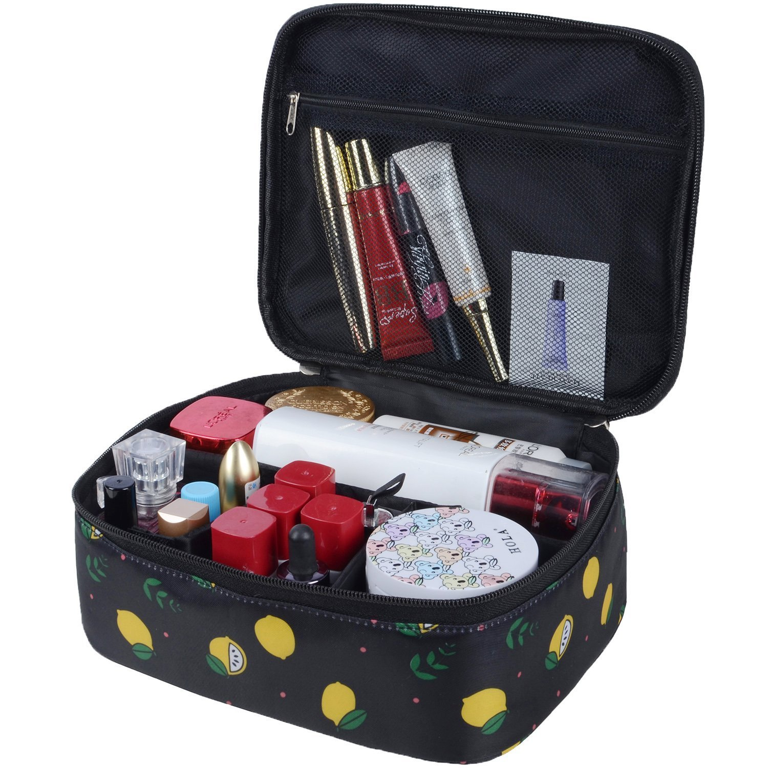 Portable Travel Make up Bag Cosmetic Bags Toiletry Wash Bag Travel Makeup Case Pouch For Women (Color28) MKPCW
