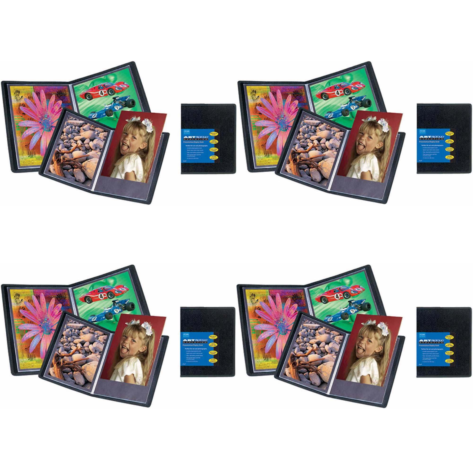 ITOYA Art Profolio Evolution 16'' x 20'' Presentation/Display Book 4-Pack