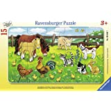 Ravensburger 06046 - Bauernhoftiere auf der Wiese