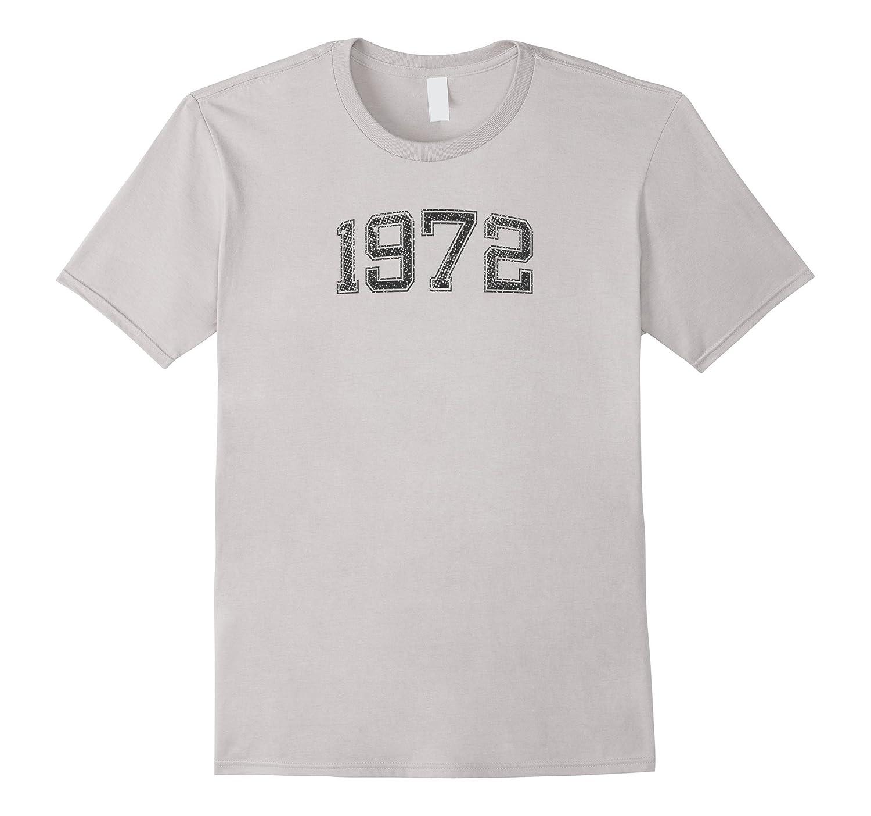 1972 Tshirt Year Vintage B-day Gift-Rose
