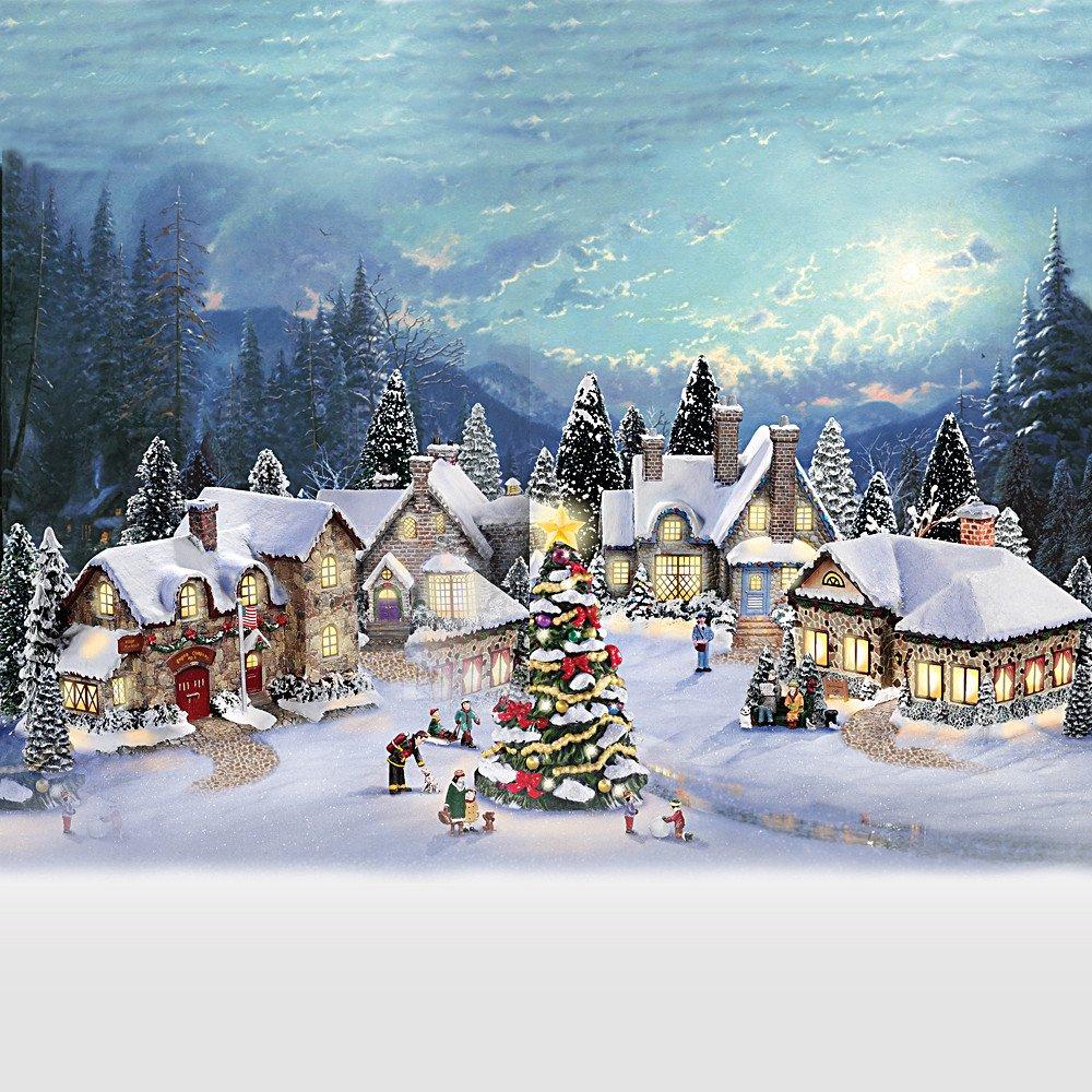 Thomas Kinkade Christmas Village Collection | www.topsimages.com