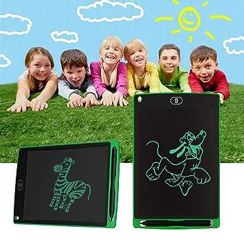 LA TECH LCD Tablet escritura Pad tableta gráfica Tablette eWriter Digital LCD Pizarra para niños adultos en casa Office escritura dibujo 12