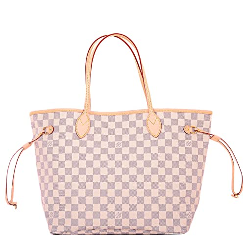 742e071938d5 Neverfull Style Canvas Woman Organizer Handbag Azur Tote Shoulder Fashion  Bag MM Size by Look At My Bags  Amazon.ca  Shoes   Handbags