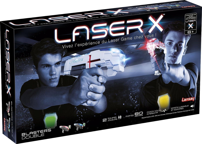 Unbekannt Lansay Laser X Doppeltes, 88016, grau