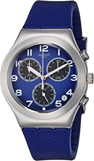 Swatch Sweet Sailor Blue Dial Blue Silicone Strap MenS Watch Ycs594