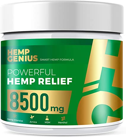 pain relief cream hemp