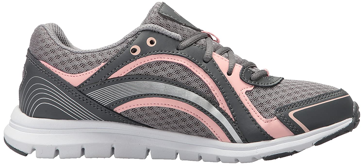 Ryka Women's B075MK92SL Aries Walking Shoe B075MK92SL Women's 8.5 B(M) US|Grey/Rose b16f3e