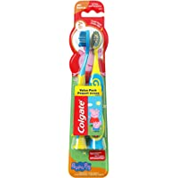 Kids Extra Soft Toothbrush with Suction Cup, Peppa Pig