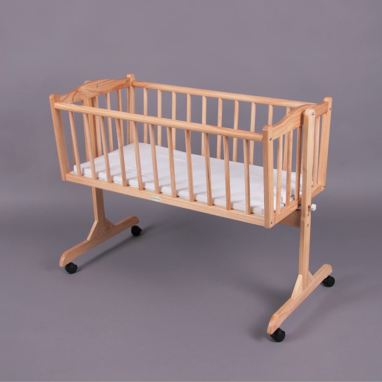 Swinging Crib/Cradle BambinoWorld with mattress