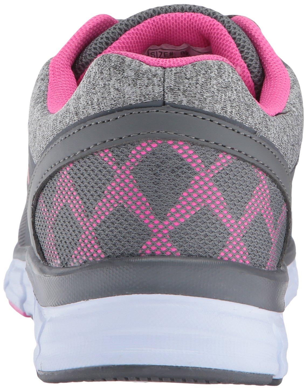U.S. Polo Assn. Women's Women's Tamara Fashion Sneaker B01NA0IDO5 9 B(M) US|Grey Jersey/Fuchsia