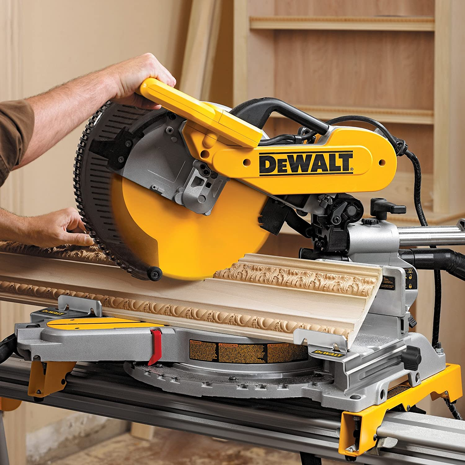 dewalt miter saw crown stop stops kit compound chop. Black Bedroom Furniture Sets. Home Design Ideas
