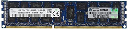 HP Low Power Kit 16 GB DDR3 1333 (PC3 10600) RAM 647901-S21 Components at amazon