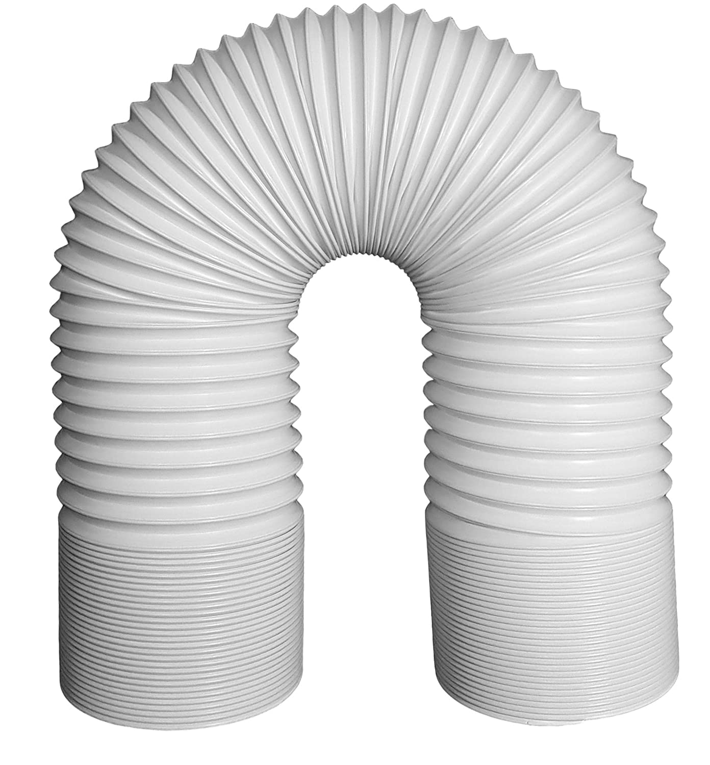 Svenson Air Conditioner Exhaust Hose 5 Inch Diameter Counterclockwise Steel Reinforced (59 Inch Length)