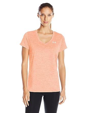 Under Armour Damen Tech SSV Twist Short Sleeve Shirt