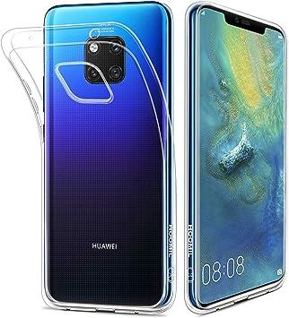 HOOMIL Transparente Silicona Funda para Huawei Mate 20 Pro, Clear ...
