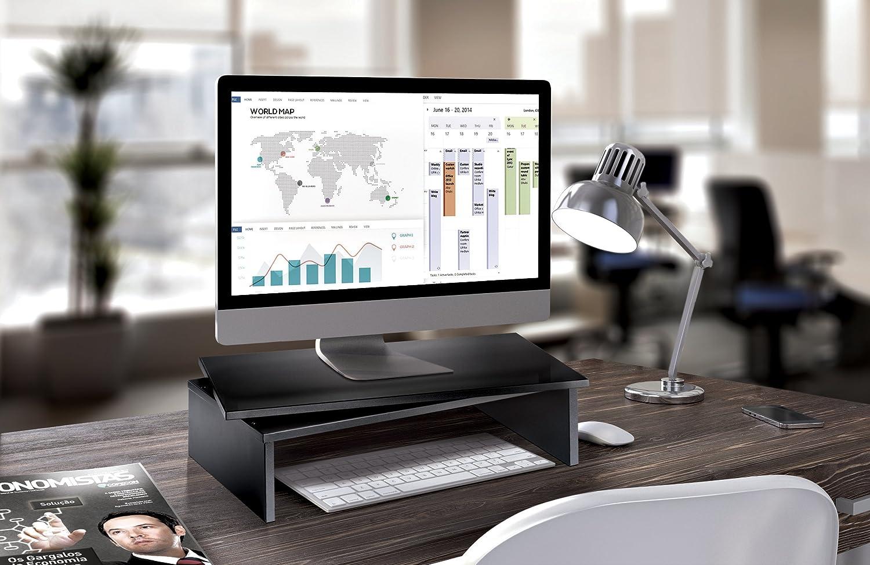 Meliconi Space LCD M Girevole per TV e Monitor PC Nero