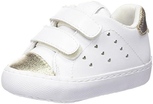 Gioseppo SONIC, Zapatillas, Niñas, Blanco, 25: Amazon.es: Zapatos y complementos