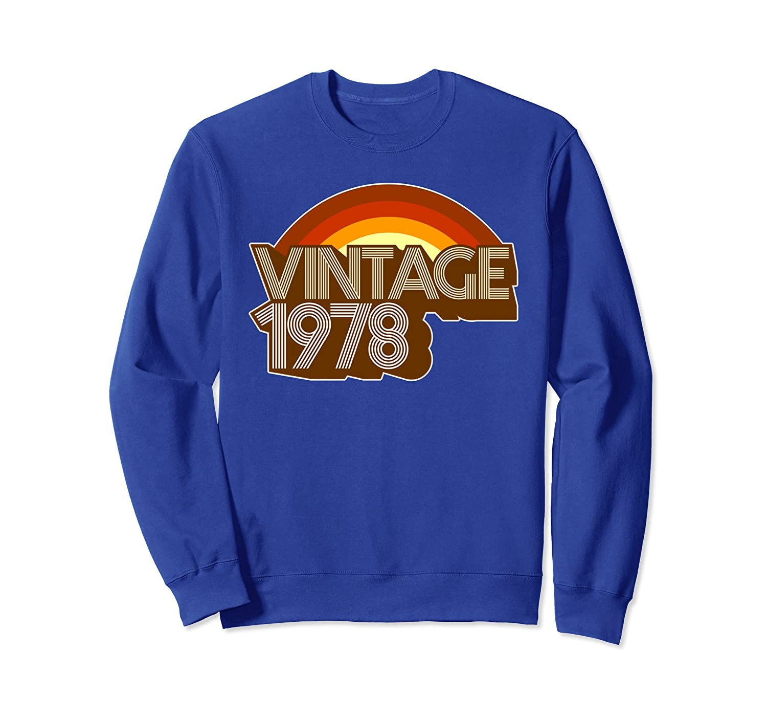 40th Birthday Gift SweatShirt Vintage 1978-TH