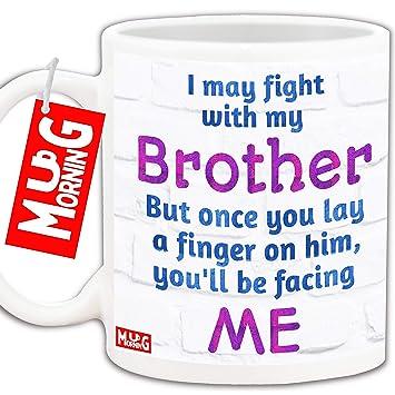 Mug Morning Coffee For Brother