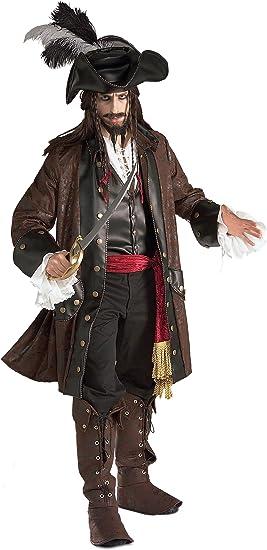 Generique - Disfraz de Pirata Hombre Única: Amazon.es: Juguetes y ...