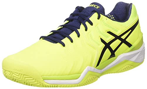 ASICS Gel-Resolution 7 Clay Mens Tennis Shoes E702Y Sneakers Shoes (UK 5 US