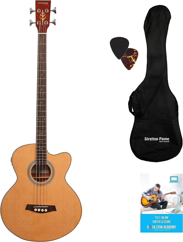 Stretton Payne - Guitarra acústica de bajo con electrónica para ...
