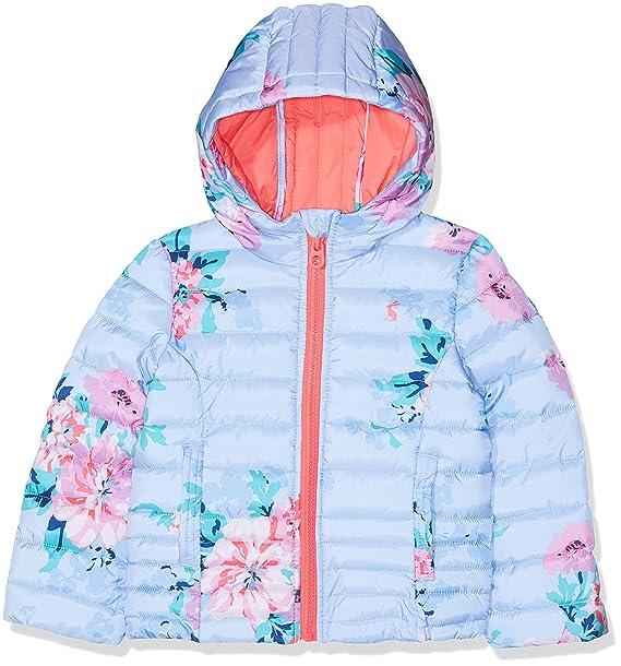 9a73ff2f1 Joules Girl s Kinnaird Print Coat  Amazon.co.uk  Clothing