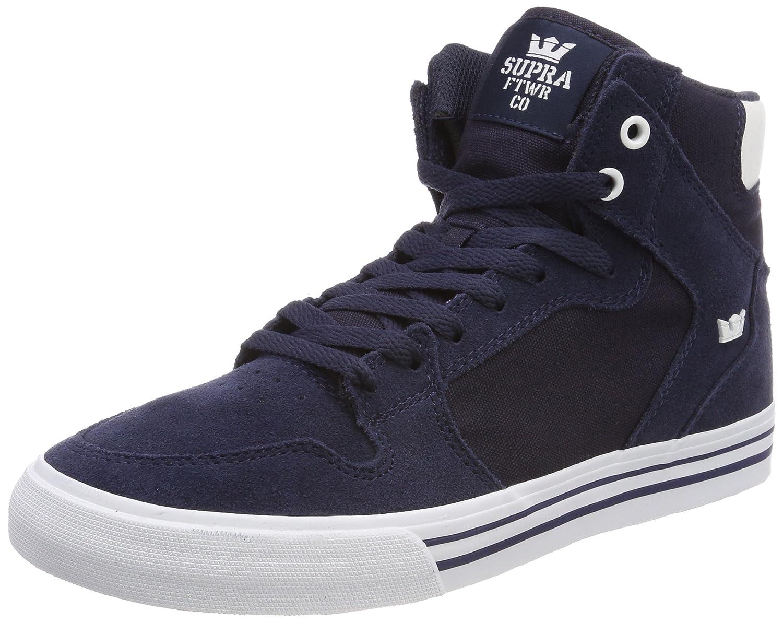 Supra Vaider LC Sneaker B074KKH5VJ 10 M US|Navy-white