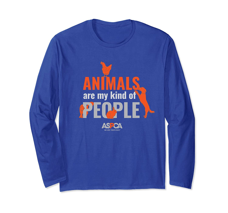 ASPCA Animals Are My Kind of People Long Sleeve Shirt Dark-mt