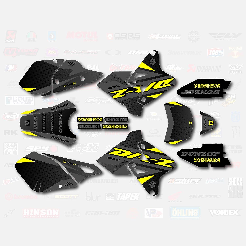 Gray Yellow Shift Graphics Kit fits Suzuki DRZ400SM Drz400s drz400 Supermoto DRZ