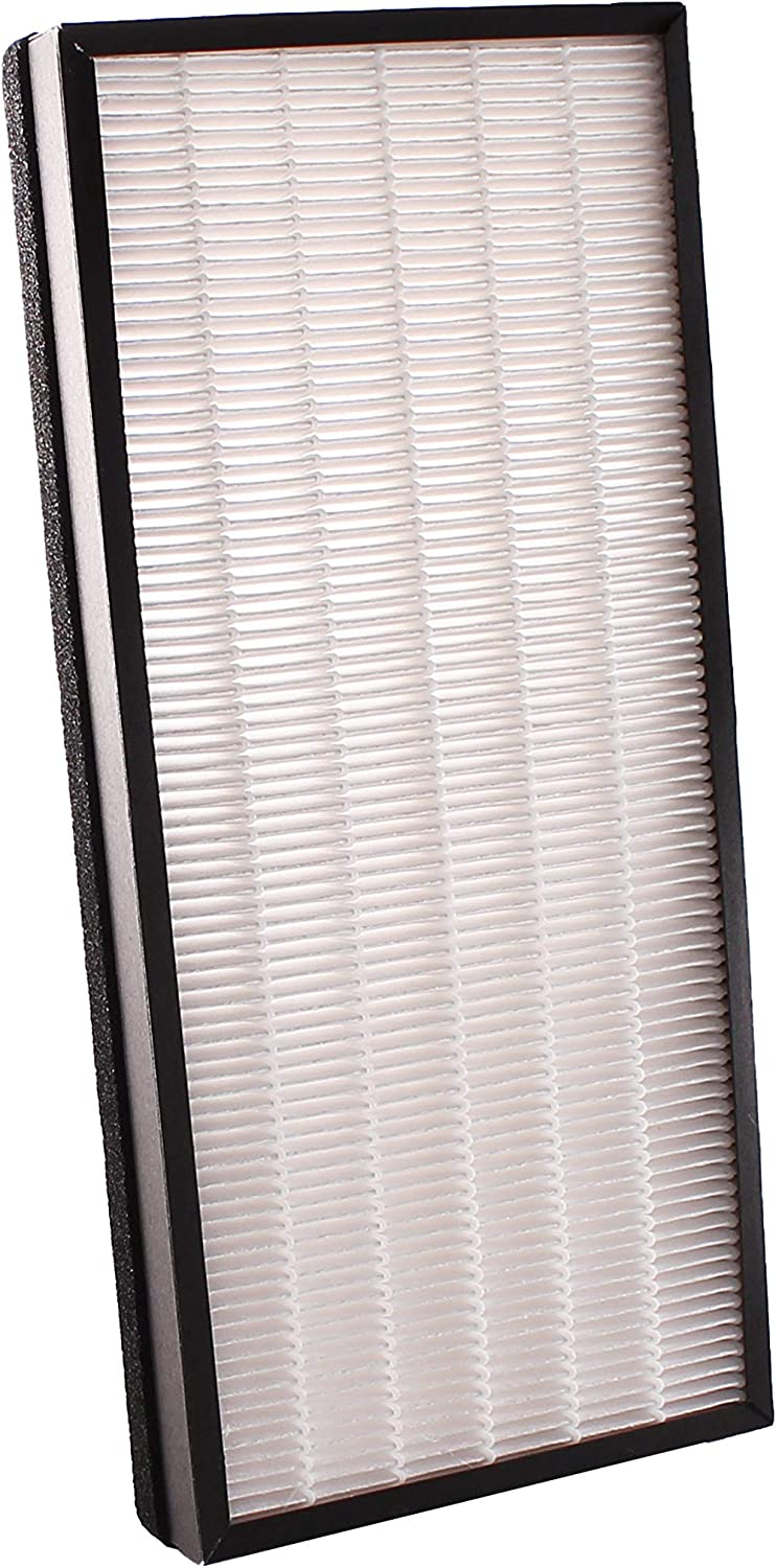 LifeSupplyUSA Replacement True HEPA Filter Compatible with Rowenta XD6070 XD6075 fits PU4010 - PU4015, PU4020 - PU4025 Intense Pure Air Purifiers