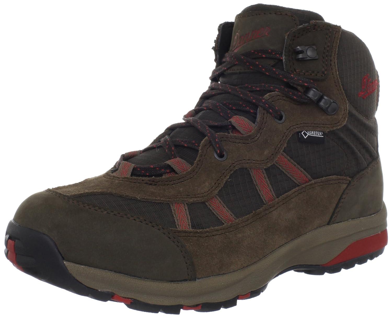 Danner Men's Steel Toe Helens Chukka Brown/Red Hiking Boot