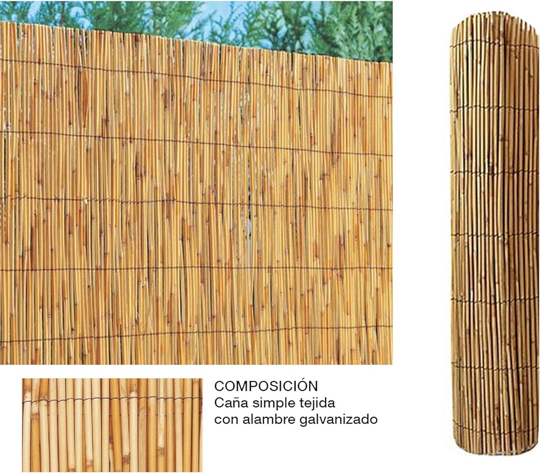 Comercial Candela Cañizo de Bambu Pelado 2x5 Metros: Amazon.es: Jardín