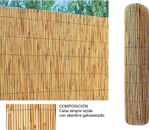 Comercial Candela Cañizo de Bambu Pelado 1x5 Metros: Amazon.es: Jardín