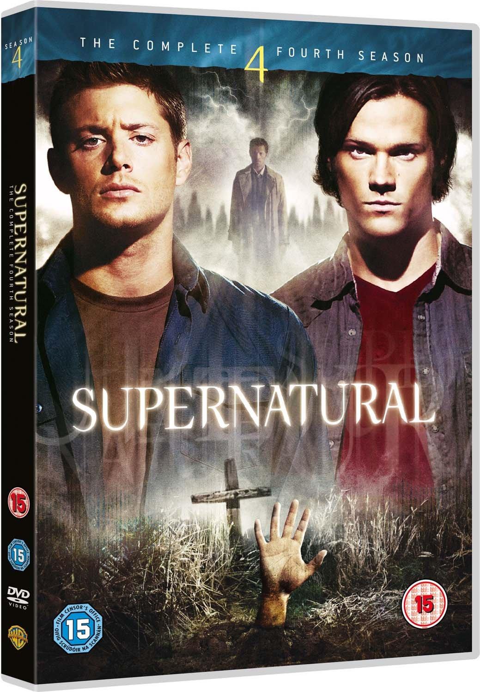 Supernatural - Complete Fourth Season [DVD] [2009]: Amazon co uk
