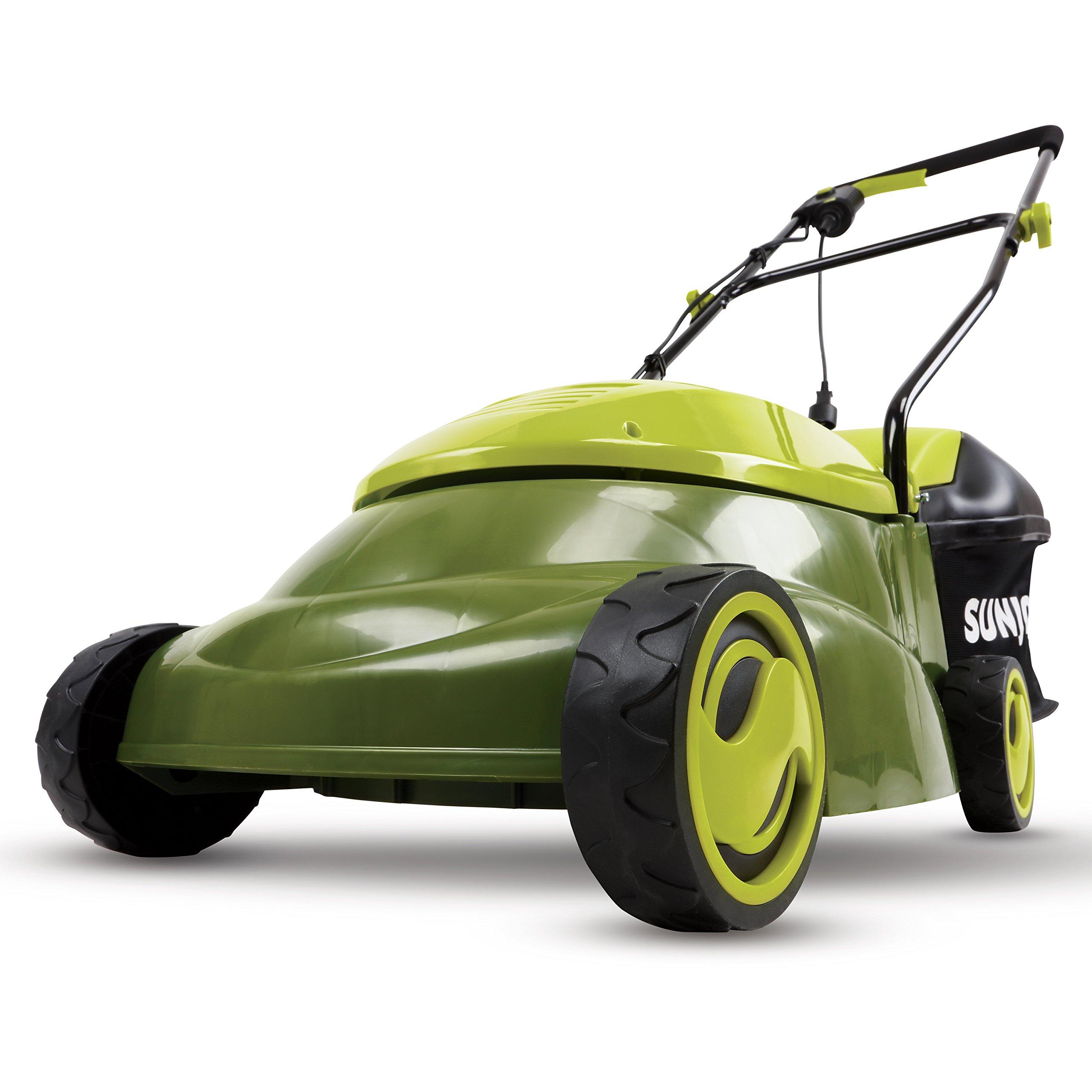 Sun Joe MJ401E-PRO 14 inch 13 Amp Electric Lawn Mower w/Side Discharge Chute, 14''
