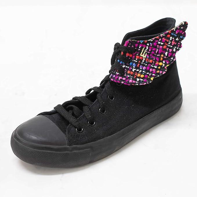 7fc7352675 Amazon.com  Stud Black Square Nail Lace Style Shwings  Shoes