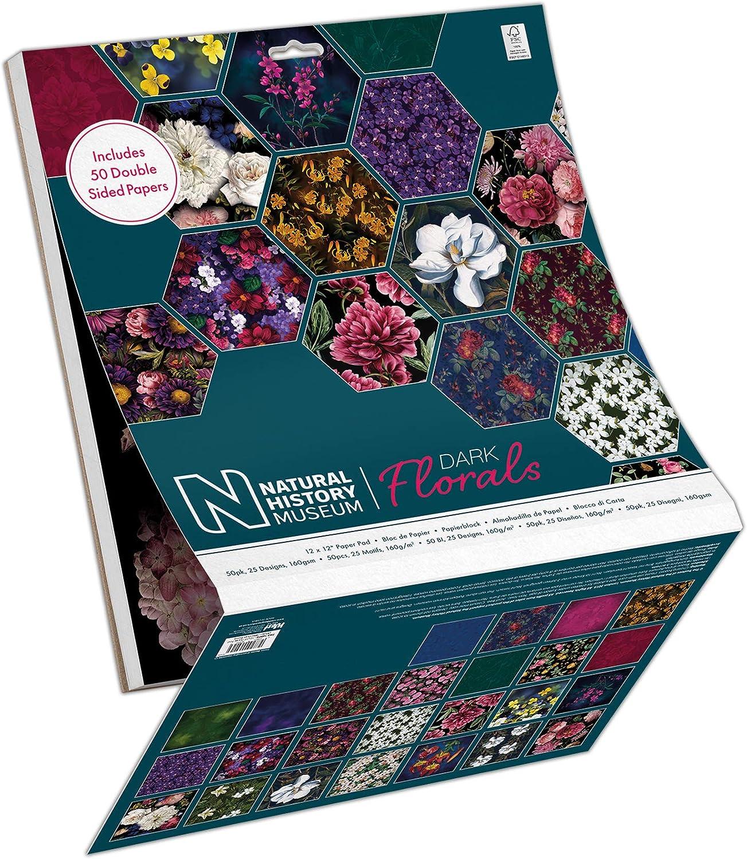 12x12 Papermania Decorative Paper Pad Multi-Colour