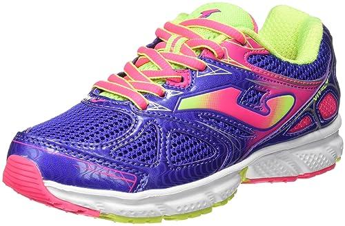Joma J.vitaly Jr 605 Azul-Rosa - Zapatillas de Running Niñas: Amazon.es: Zapatos y complementos