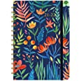 """2021- 2022 Planner - Weekly Monthly Planner with Tabs, 6.3"""" x 8.4"""", July 2021 - June 2021, Hardcover with Back Pocket + Thick"""