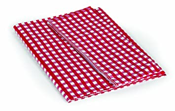 Camco 51019 Red/White 52u0026quot; X 84u0026quot; Table Cloth