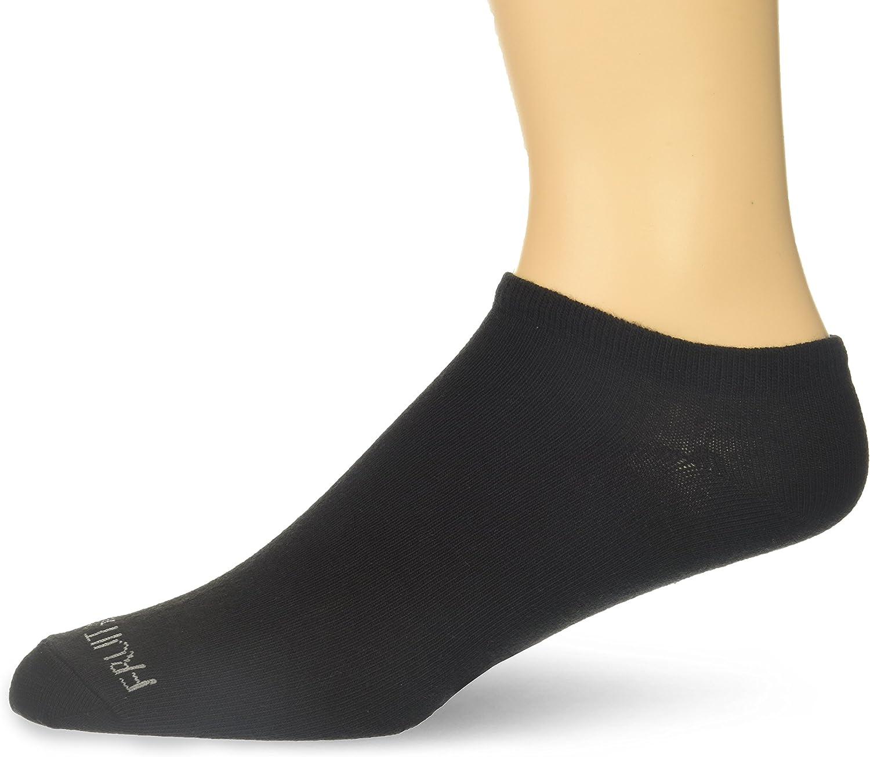 Fruit of the Loom Men's 12-Pair Flat Knit No Show Liner Socks