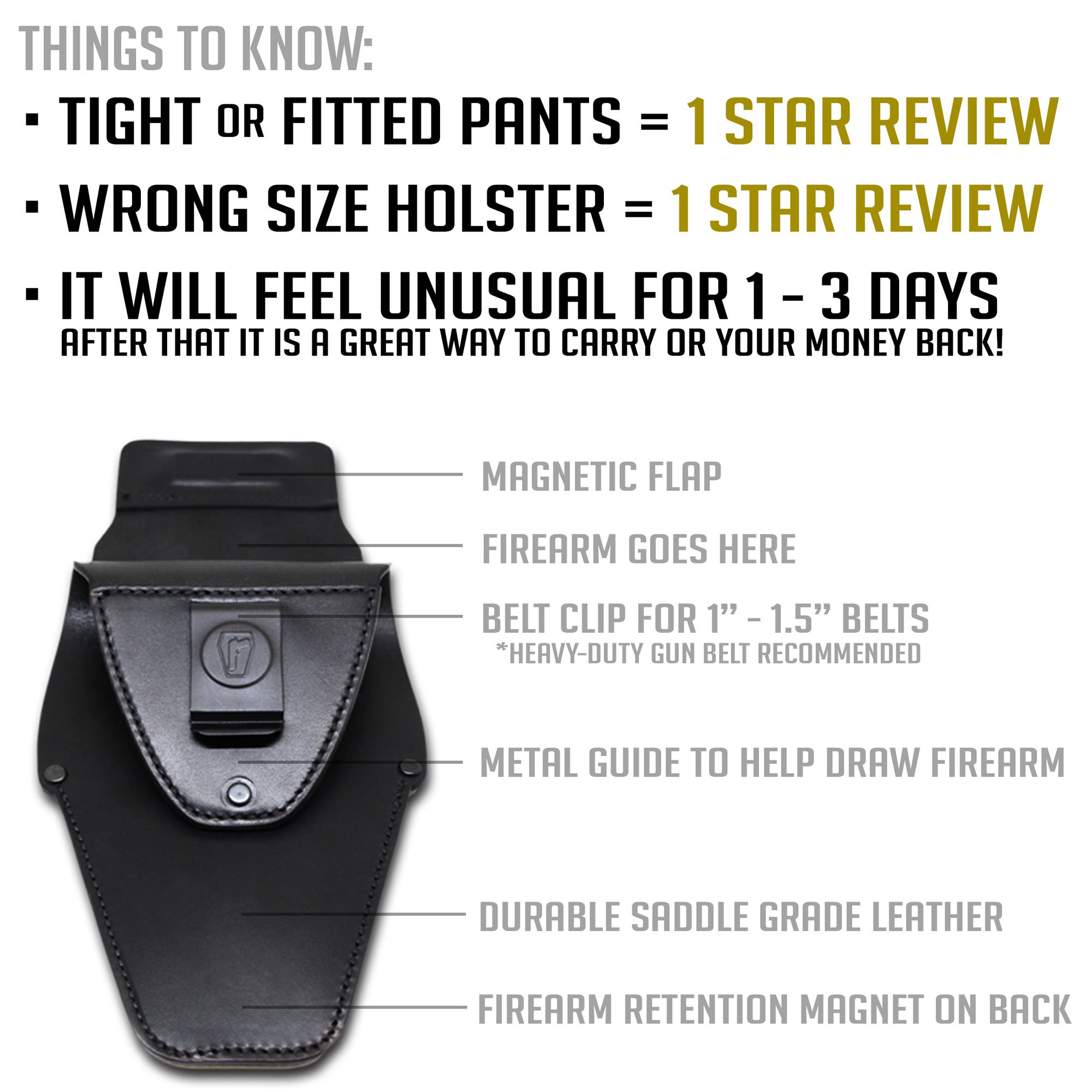 Urban Carry G2 (Black, Trooper) by Urban Carry Holsters (Image #5)