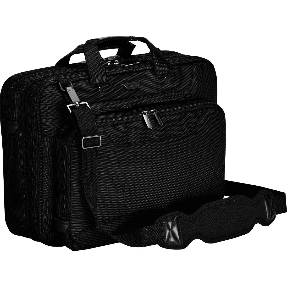 Targus Corporate Traveler Checkpoint-Friendly Laptop Bag for 16-Inch Laptops, Black (CUCT02UA15S) by Targus