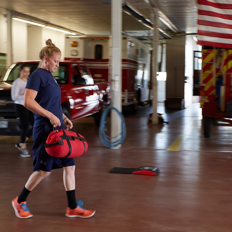 Rep Fitness - Sacos de arena muy resistentes para entrenamiento, cross training, rutinas, fitness, ejercicios y preparación militar, grande-negro: ...