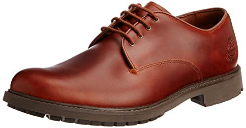 Timberland Stormbuck Waterproof Oxford, Zapatos Hombre, Marrón (Dark Brown Full-Grain), 40 EU (Talla fabricante: 7 M US)