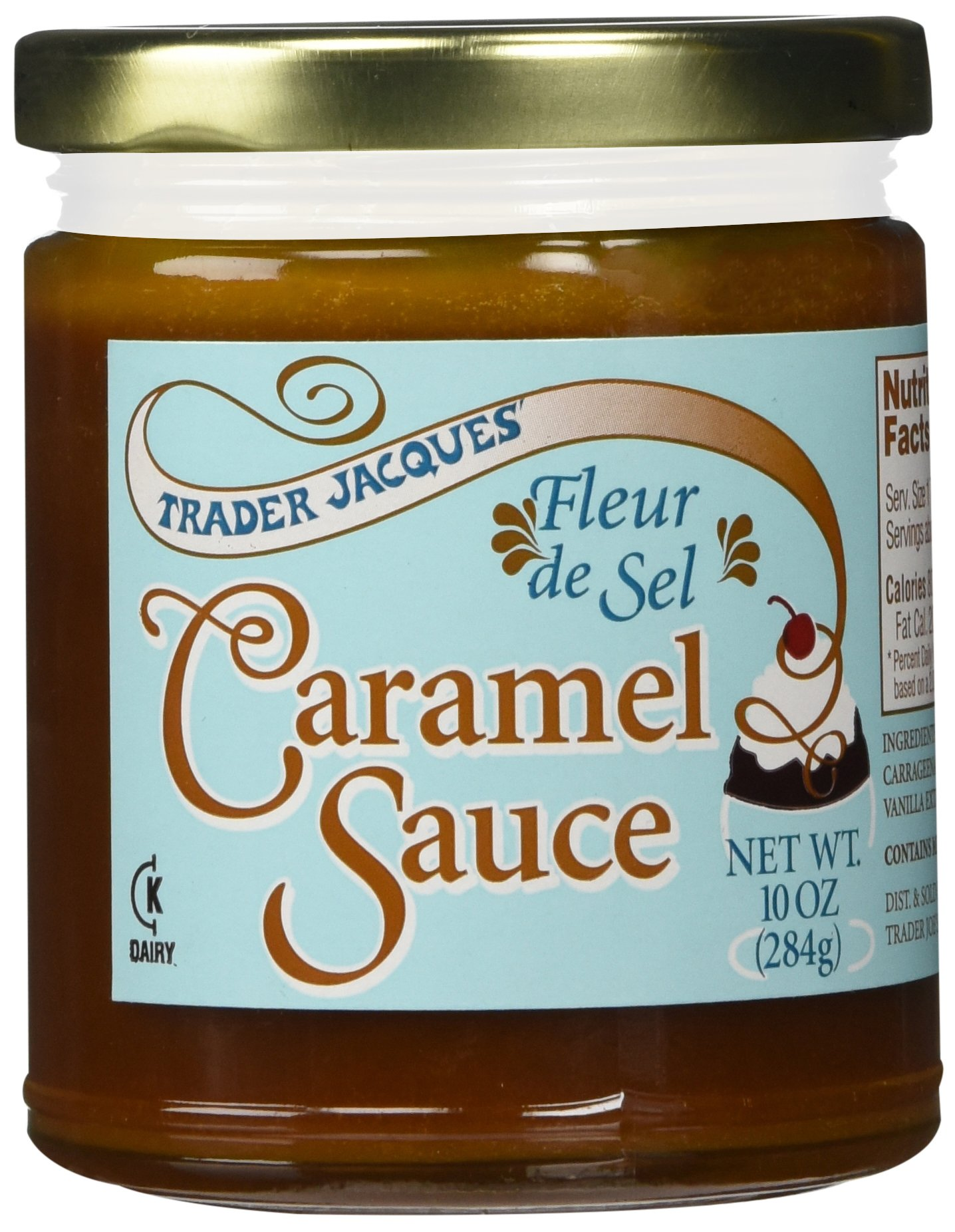 Amazon.com : Coop\'s Salted Caramel Sauce (10.6 ounce) : Grocery ...
