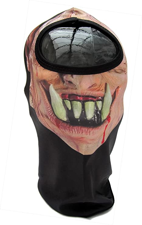 SENIOR  Ninja Warrior Face Hood Balaclava Halloween Mask 1 Size