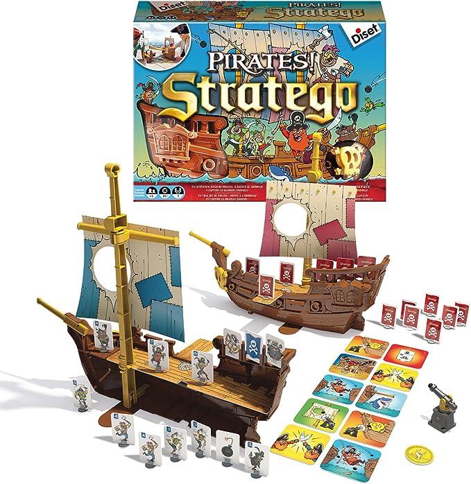 Diset- stratego Pirates, Juego de Estrategia, (62305): Amazon.es: Juguetes y juegos