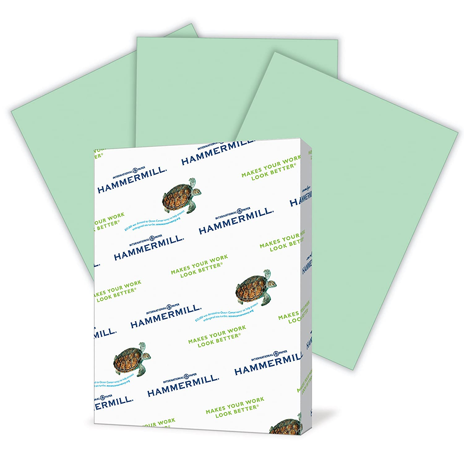 Letter Size 3 Hole Punch 8.5x11 Paper 5000 Sheets // 10 Ream Case Pastel Paper Canary Printer Paper Hammermill Colored Paper Colorful Paper 102921C 20lb